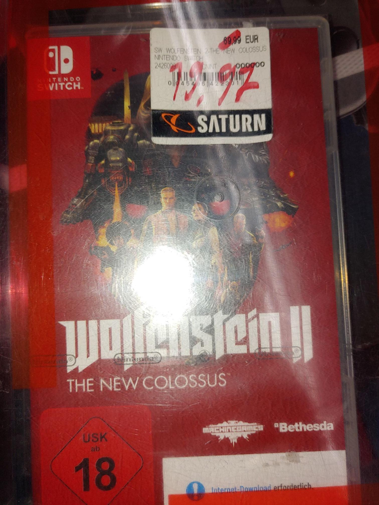 Wolfenstein 2 Nintendo Switch Lokal Saarbrücken Saturn