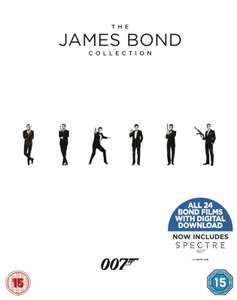 James Bond Collection 1-24 Blu-ray
