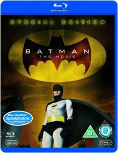 """(UK) (Der einzig wahre Batman Film) """"Batman The Movie"""" auch bekannt als """"Batman hält die Welt in Atem"""" von 1966 [Blu-Ray] für 8.47€ @ Thehut/zavvi"""