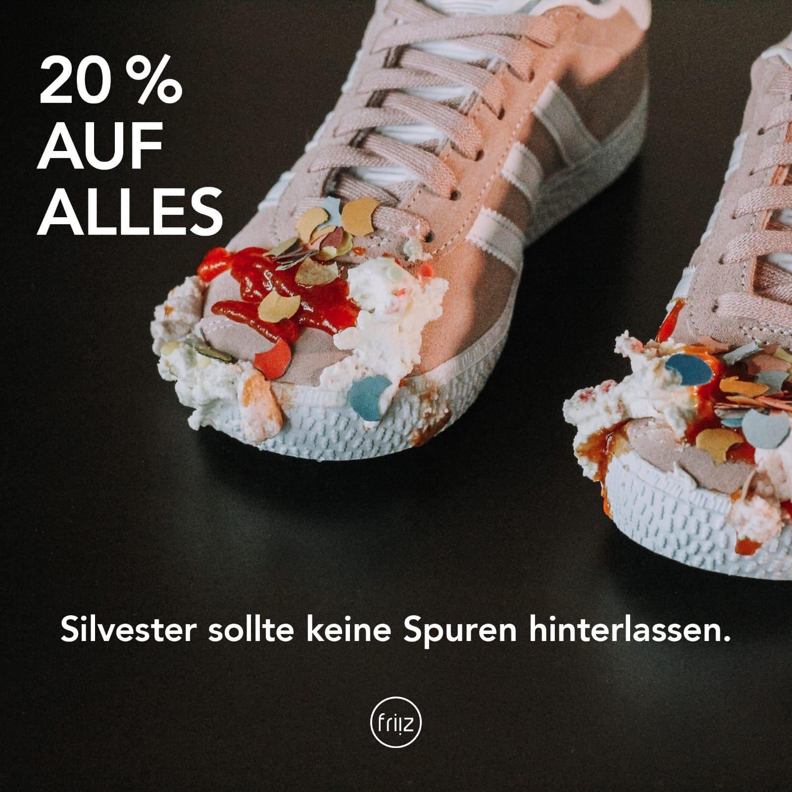20% auf friiz Imprägnierspray und Schuhpflege