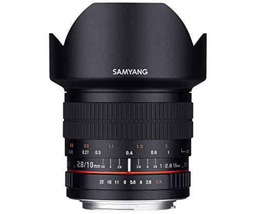 [Nikon AE] Samyang 10/2,8 Objektiv DSLR, manueller Fokus automatischer Blendenring Fotoobjektiv,Weitwinkelobjektiv