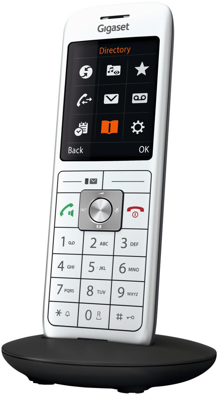 Gigaset CL660HX Universal-Mobilteil (DECT, Silber) für 34,99€ versandkostenfrei (Media Markt)