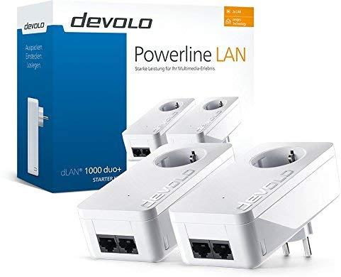 Devolo dLAN 1000 duo+ Starter Kit - HomePlug AV2 - 2x RJ-45