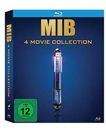 Men in Black 1-4 Movie Collection Blu-ray [Amazon Prime]