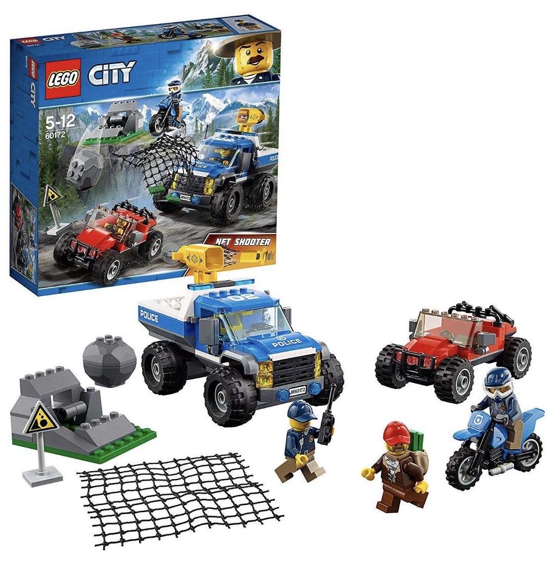 [PRIME] LEGO City 60172 - Bergpolizei Verfolgungsjagd auf Schotterpisten, Unterhaltungsspielzeug