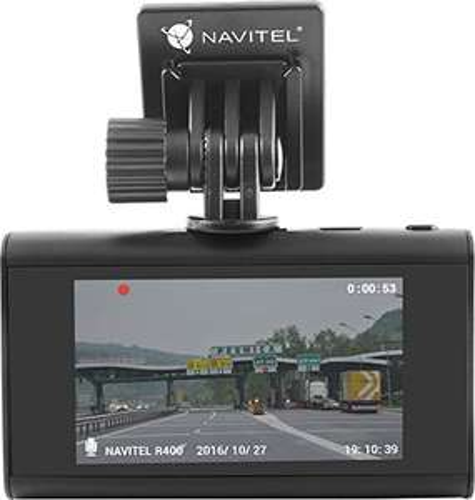 Navitel R400 Auto Dashcam 1080P Autokamera 120° Weitwinkel G-Sensor Parüberwachung inkl. 12 Monate Gratis Navigationslizenz