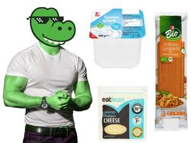 Pumpermarkt [KW1]: z.B. 500g Magerquark - 0,55€ | 180g/200g Eatlean Protein Cheese - 1,99€ | 500g Vollkornnudeln - 0,65€ bei Kaufland