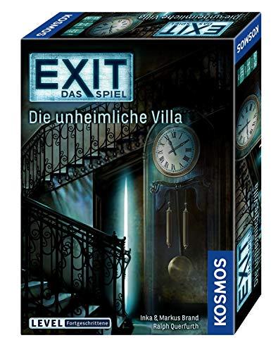 KOSMOS - EXIT - Das Spiel, Die unheimliche Villa & Die Känguru-Eskapaden, Escape Room Spiel für je 7,19€ (Amazon Prime)