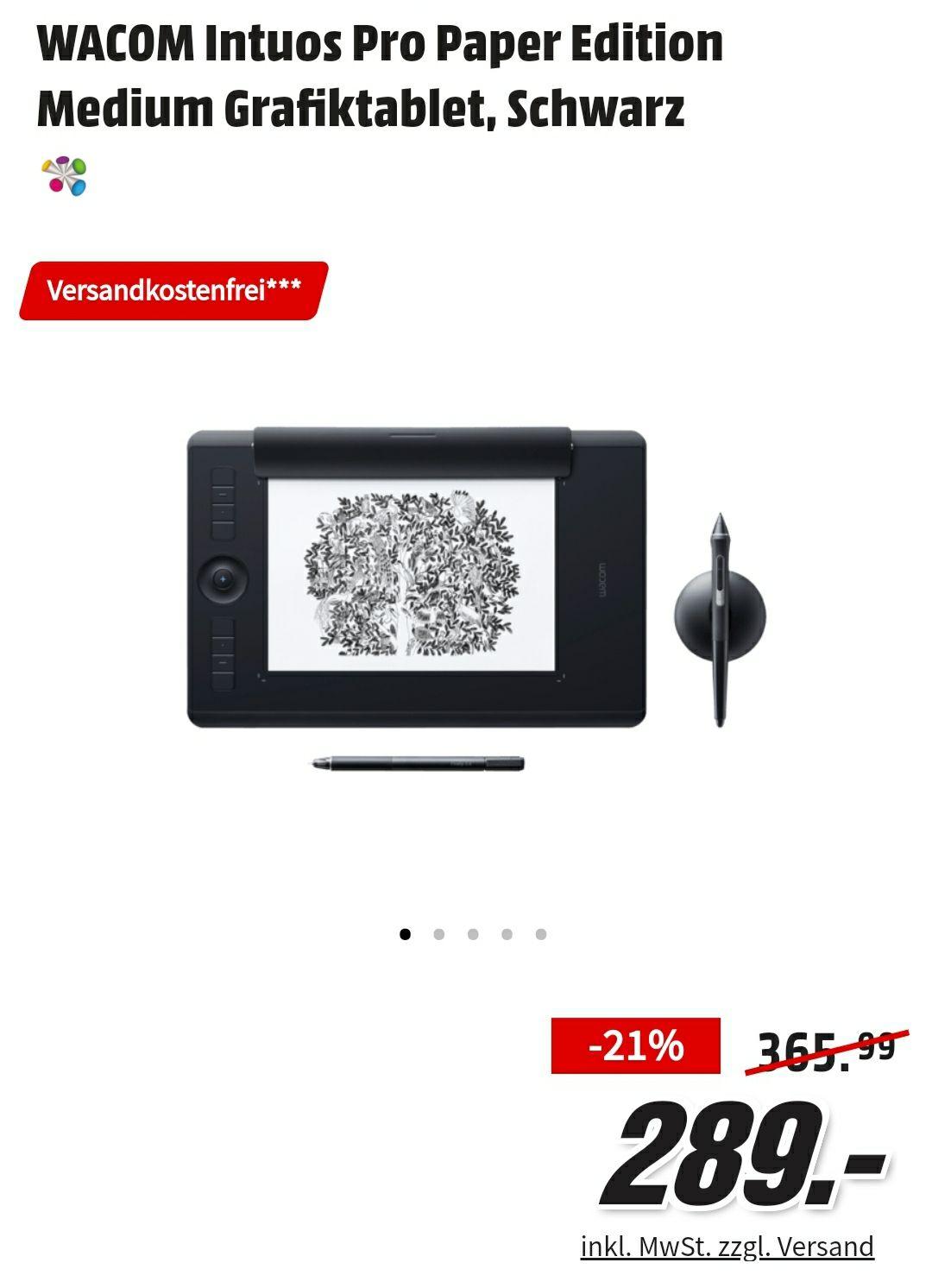 Wacom Intuos Pro M Paper (Media Markt/Saturn Online/Amazon )