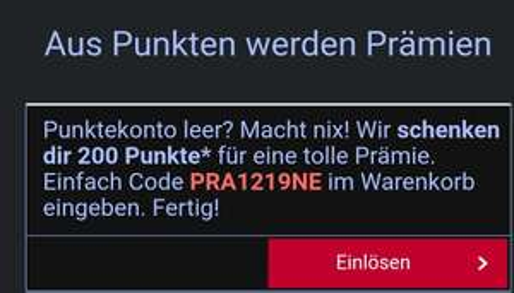 2€ Rabatt ab 19,99€ im Payback-Prämienshop
