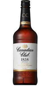 [Amazon Prime] Whisky Deals #01: Canadian Club Blended Canadian Whisky (0.7 Liter) für 9,81€ inkl. Versand
