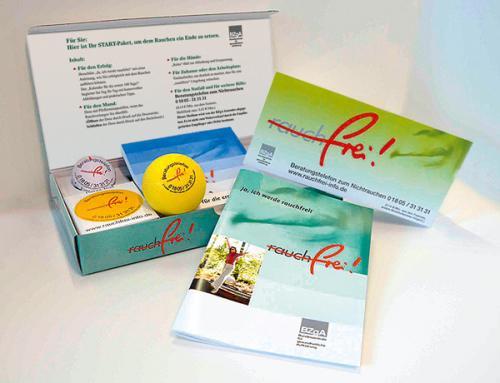 [Wieder Verfügbar] Rauch-frei Startpaket passend zum Neujahrsvorsatz