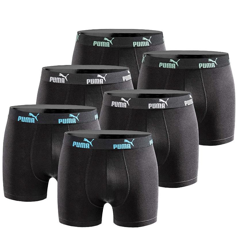 [Prime/Blitzangebot] 6er Puma Boxer Shorts versch. Farben