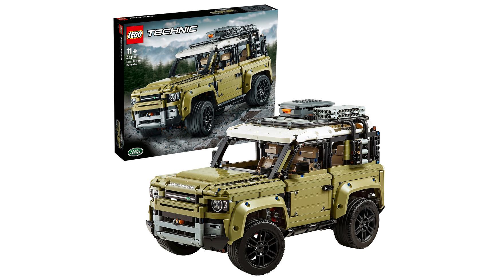 LEGO Technic 42110 Land Rover Defender, mit Rossmann Coupon bei Müller