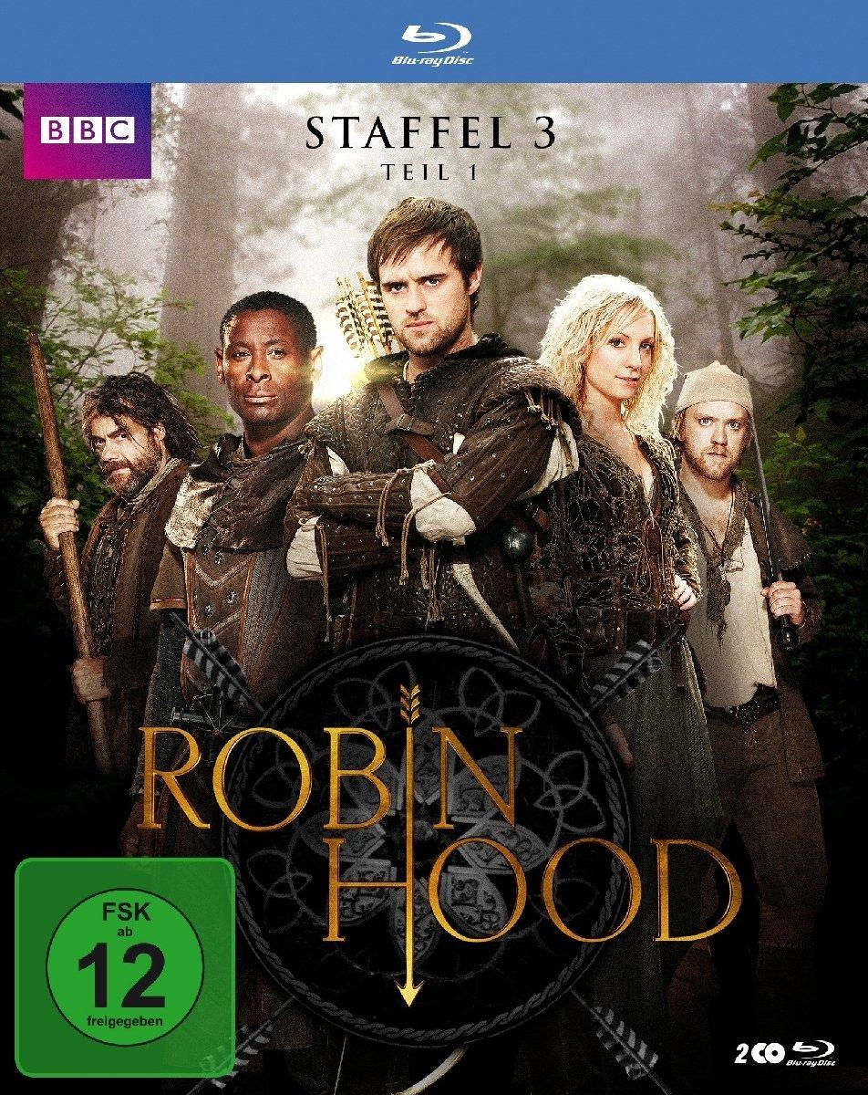 Robin Hood: Staffel 3 - Teil 1 (Blu-ray) für 4,99€ (Müller)