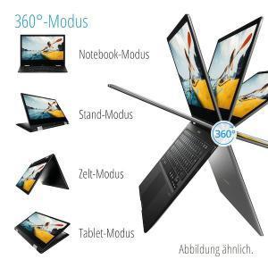 """Medion Akoya E3222, 13,3"""" FHD Touch, Intel N4100, 64 GB Flash, 4 GB RAM, Convertible (B-Ware) für 129€ (Essen - Medion)"""