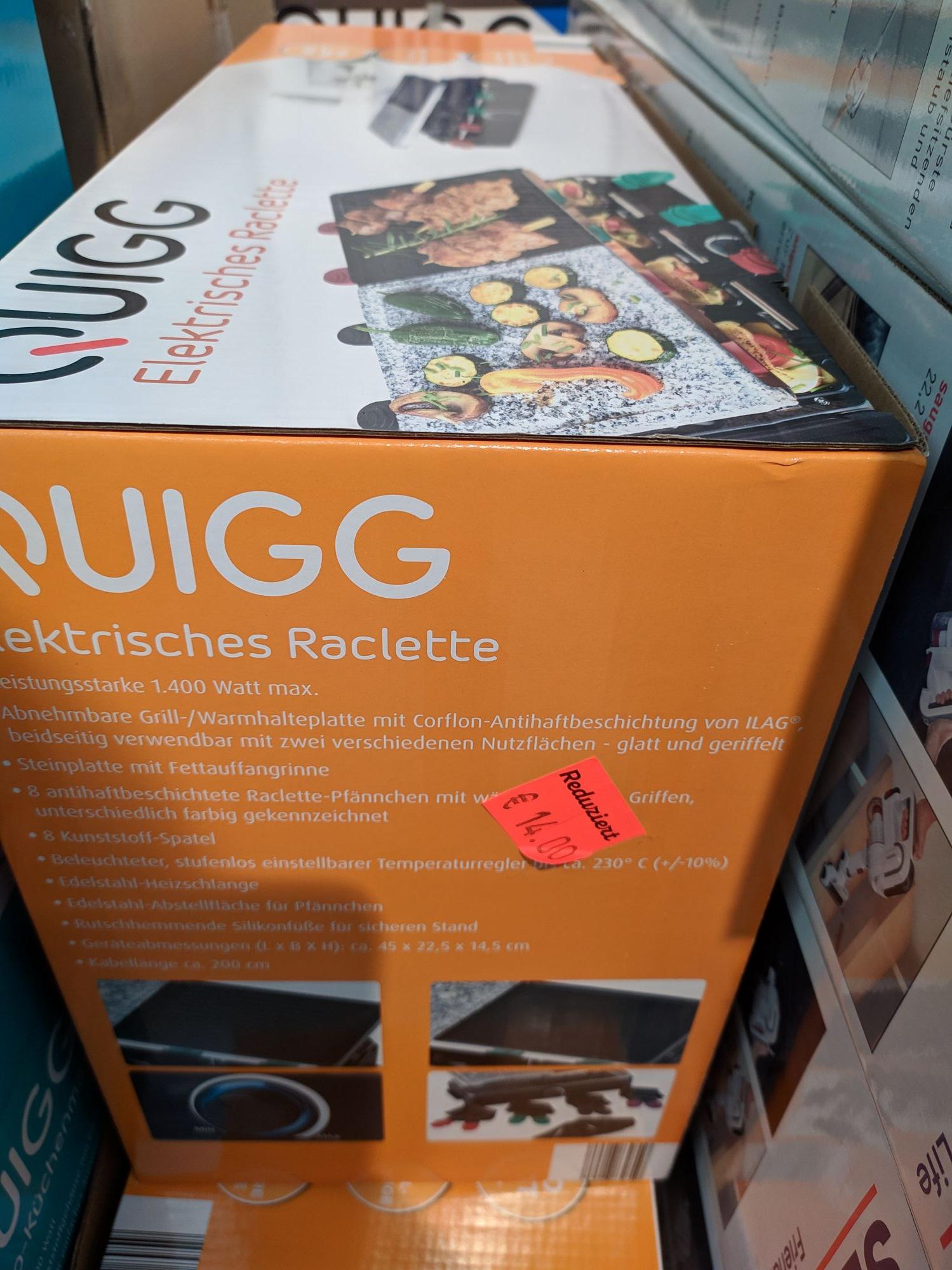 Raclette 14€, Waffeleisen 7€, Akku Handstaubsauger 60€ ... [Hildesheim]