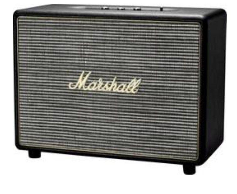 Marshall Woburn Boombox, Bluetooth Lautsprecher, schwarz