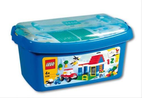 """Lego """"Große Steinebox"""" (6166) für 24,95€ (ggf. 4% Qipu Cashback) inkl. Versandkosten @ Thalia"""