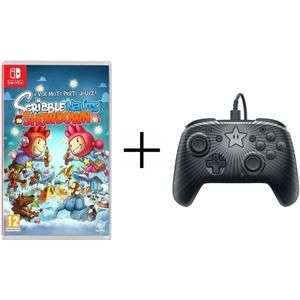 PDP Switch Faceoff Wired Pro Controller + Scribblenauts: Showdown für 25,98€ inkl. Versand (Cdiscount)
