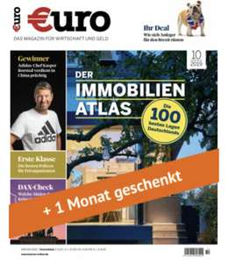 """[abofreude.de] Finanzmagazin """"Euro"""" im Abo (12 Monate) für 96€ + 100€ Best Choice/ 95€ Amazon Gutschein/ 90€ Verrechnungscheck"""