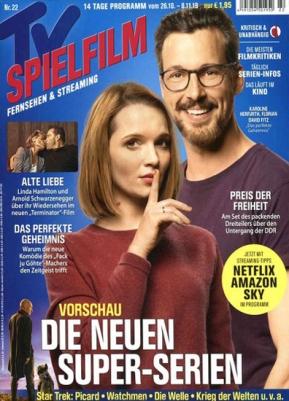 """4 Monate """"TV Spielfilm"""" für 13,80€ + 15,-€ Verrechnungsscheck als Prämie"""