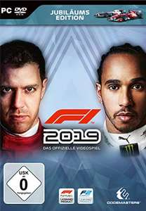 F1 2019 Jubiläums Edition (PC) für 24,99€ (Amazon Prime & GameStop)