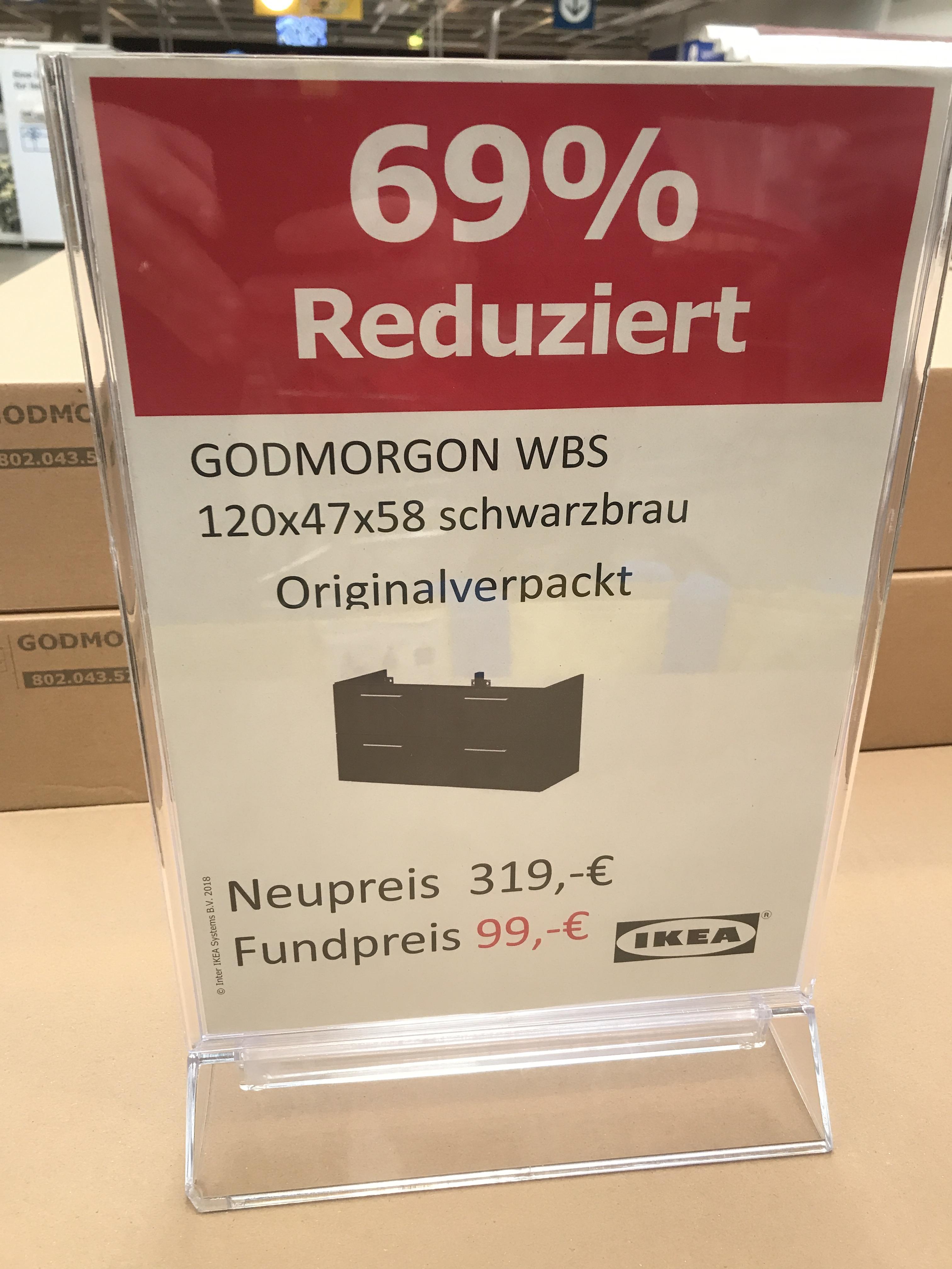 [Lokal München] IKEA Godmorgon WBS 120cm NEU