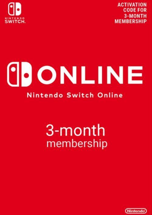 Nintendo Switch 3-monatige Mitgliedschaft