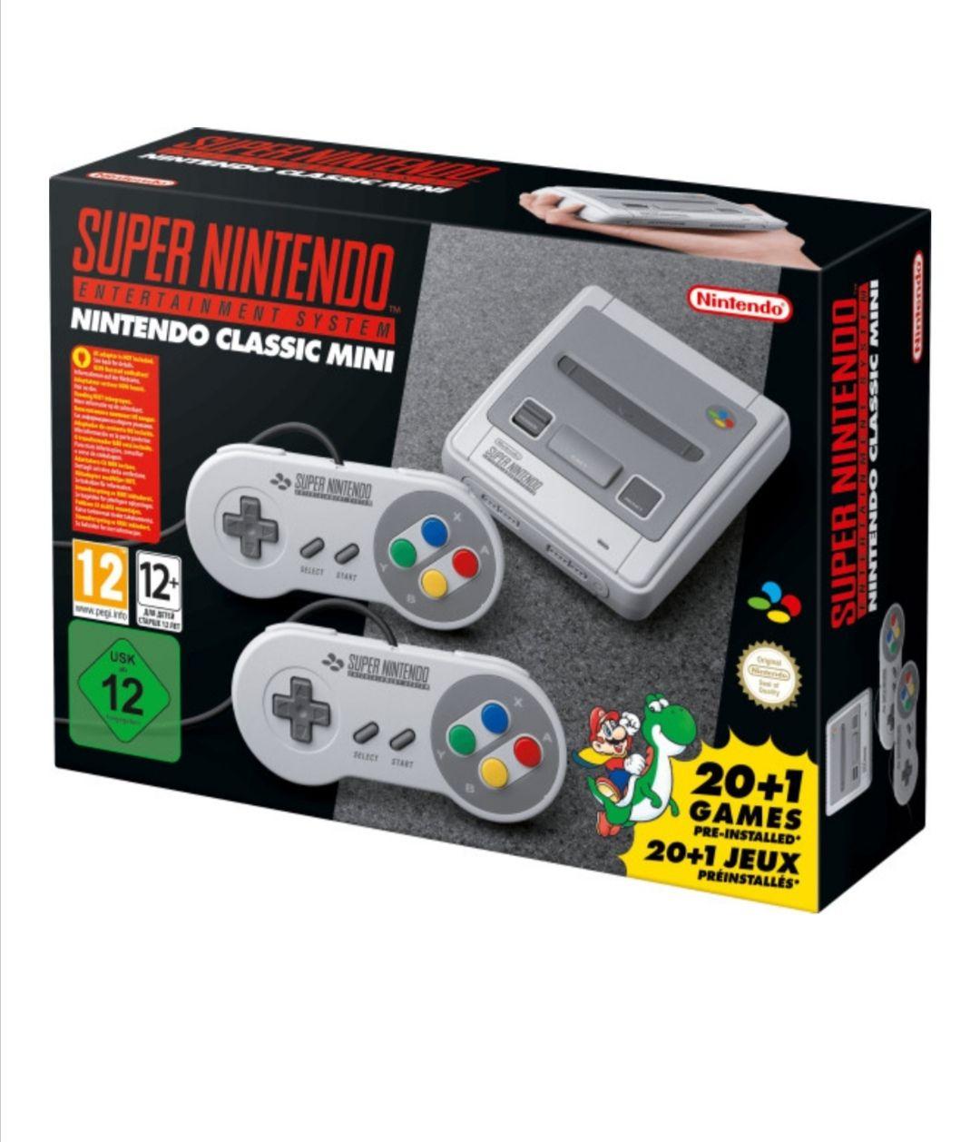 [Bücher.de] Super Nintendo Classic Mini für 79,99€