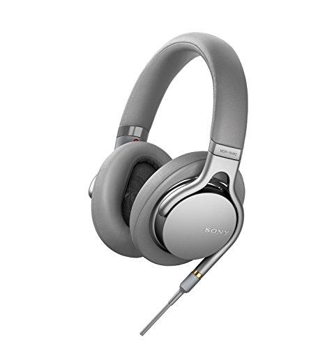 Amazon: Sony MDR-1AM2 Kopfhörer, High Resolution Audio, Beat Response Control, ultraleichtes Design, inkl. Audiokabel) silber