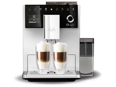 [EXPERT] Melitta CI Touch F630-101 Kaffeevollautomat mit Milchbehälter Flüsterleises Mahlwerk One Touch Funktion 10 Kaffeevariationen TFT