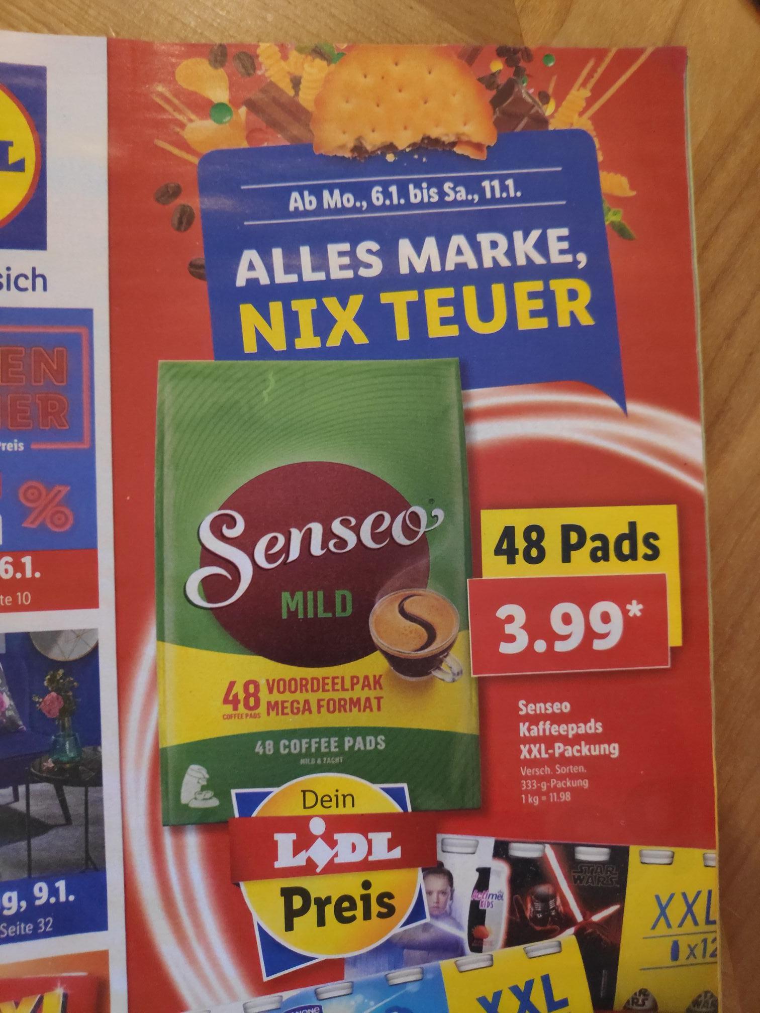 Senseo Kaffeepads 48er Packung