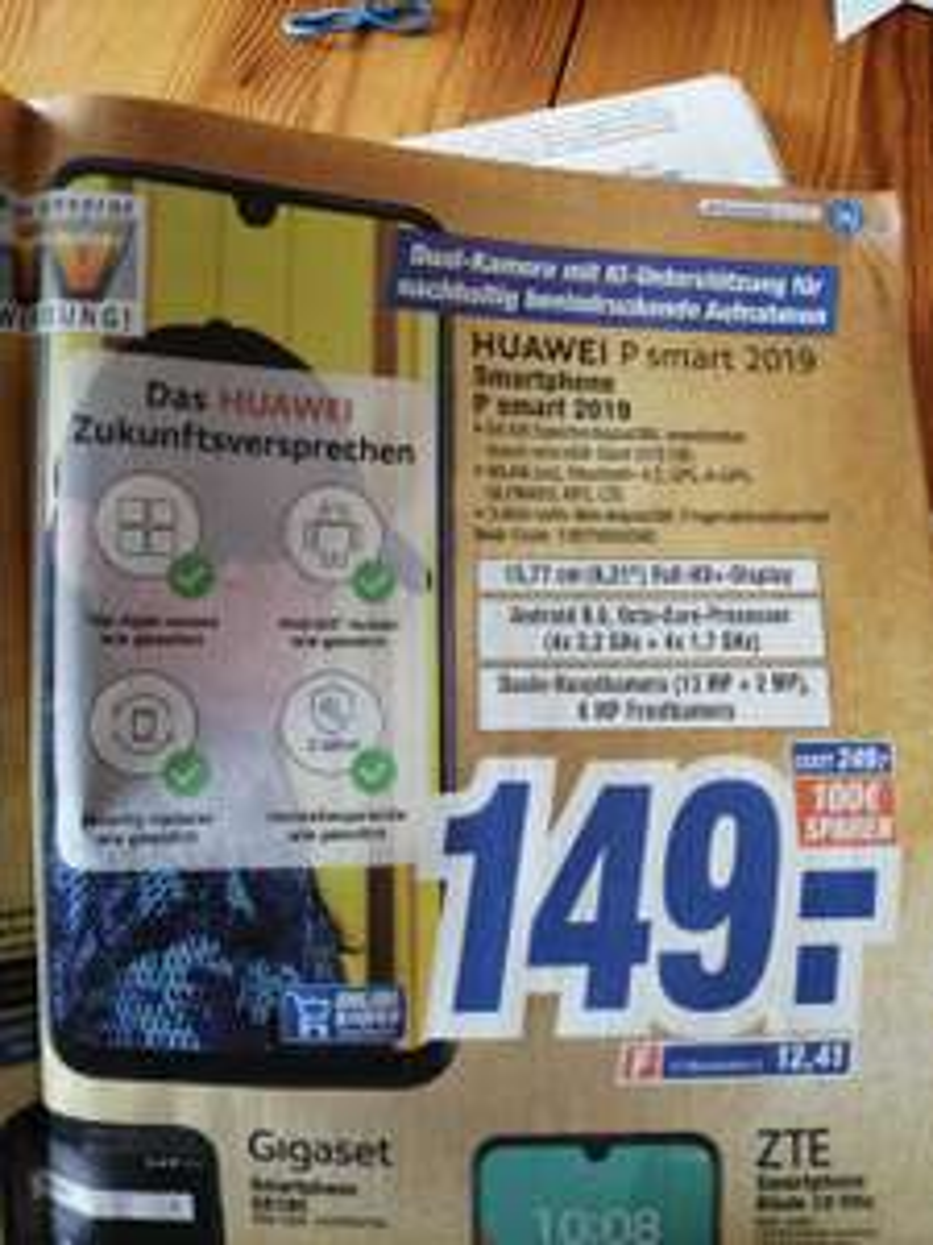Huawei P smart 2019 bei HEM
