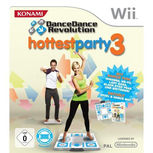 Dance Dance Revolution - Hottest Party 3 inkl. Tanzmatte (Wii) bei Amazon.de