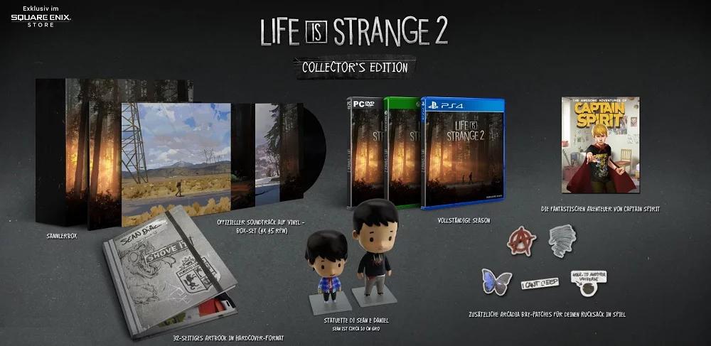 Life Strange 2 Collector's Edition (PS4 & Xbox One & PC) für je 49,99€ (Square Enix Store)