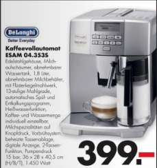 [HANDELSHOF KANNE] DeLonghi Kaffeevollautomat ESAM 04.353S (Edelstahl)