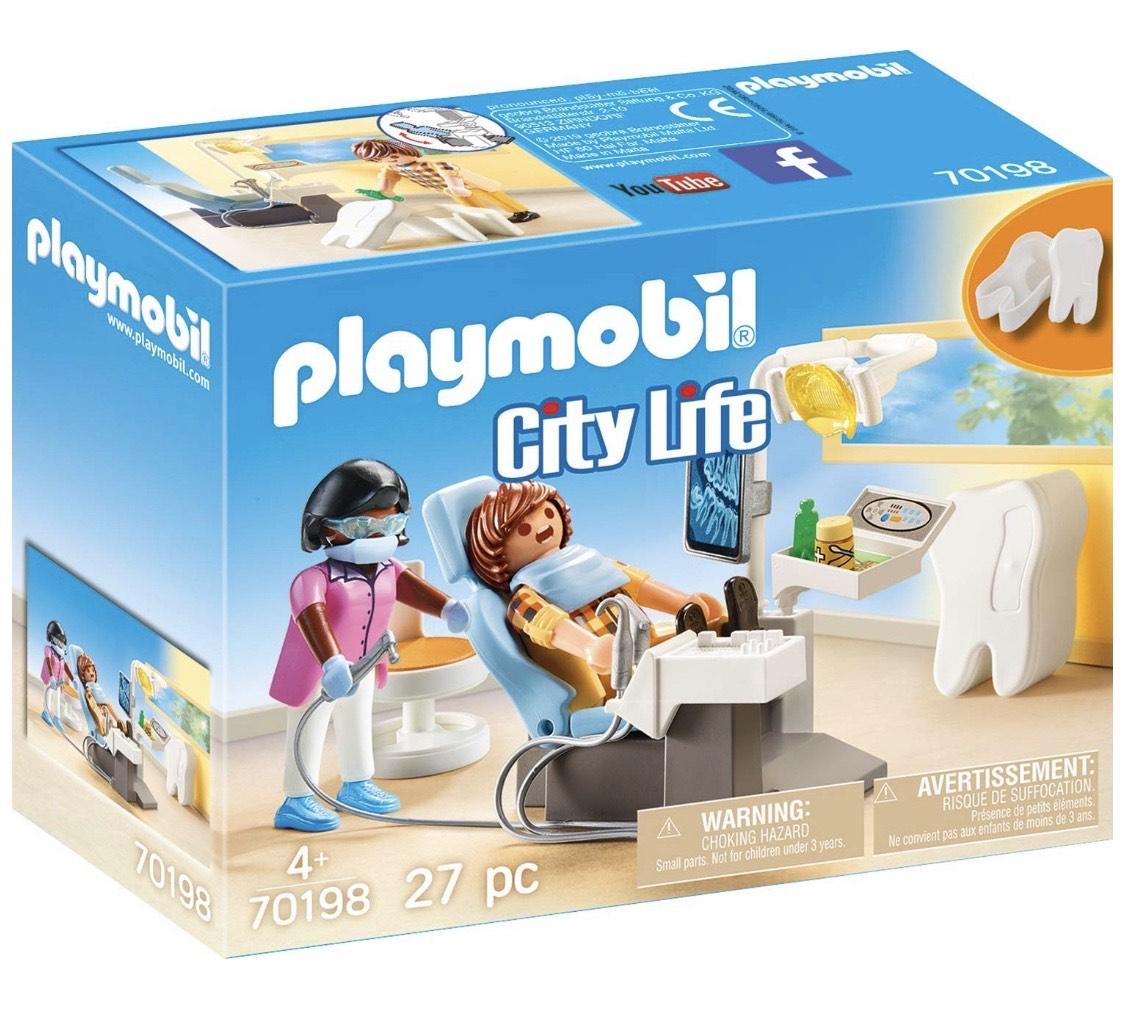 [Prime/Amazon] Playmobil 70198 City Life Beim Facharzt: Zahnarzt