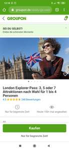 Groupon London Explorer Pass*