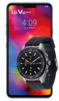 LG V40 Thinq und LG Watch W7 im Telekom Congstar (10GB LTE 50Mbit, Allnet/SMS) mtl. 25€ einm. 39,95€ [nach Ankauf 9,31€ mtl.]