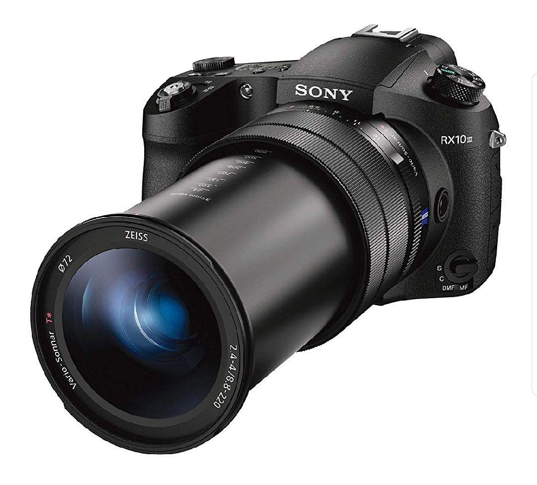 Sony DSC-RX10M3 Premium Bridge Kamera (20.1 Megapixel, 25-fach optischen Zoom, 4k, inkl. 24-600 mm) schwarz