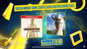 "PS+ Januar 2020 - Uncharted Collection und Goat Simulator ""kostenlos"""