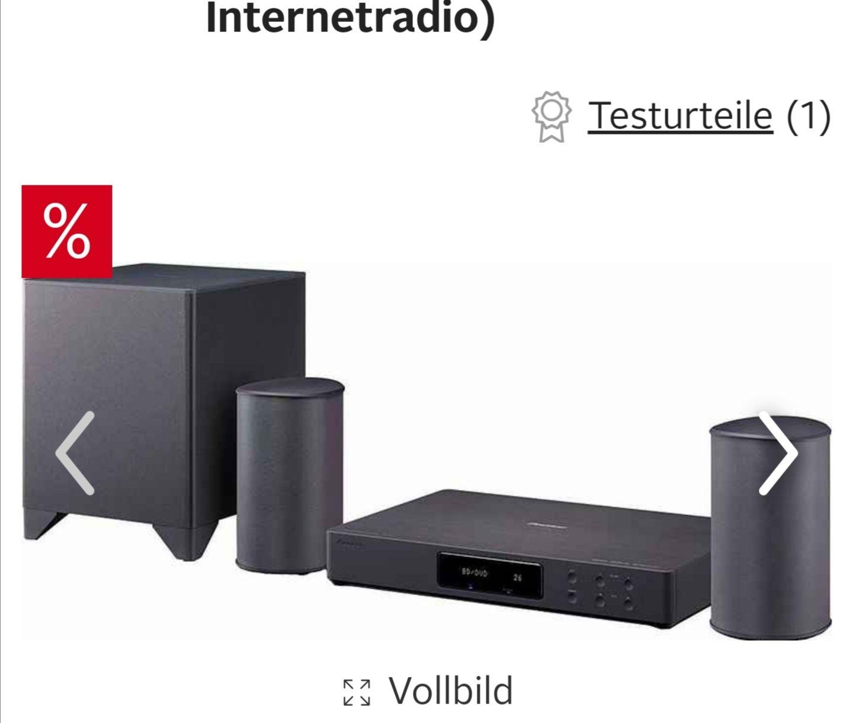 Pioneer »FS-W50« Audio-System (WLAN, Bluetooth, LAN (Ethernet), Internetradio. VPG Ebay