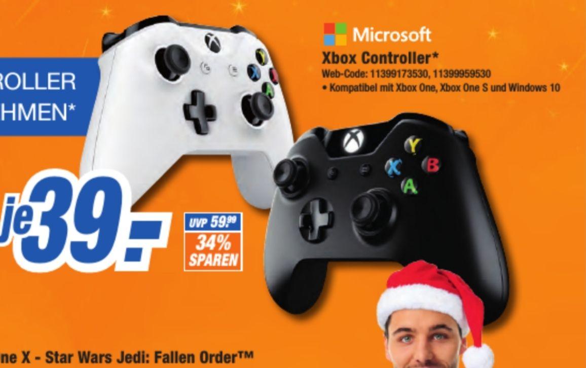 [Lokal Bayreuth] Microsoft Xbox Wireless Controller(schwarz & weiß)