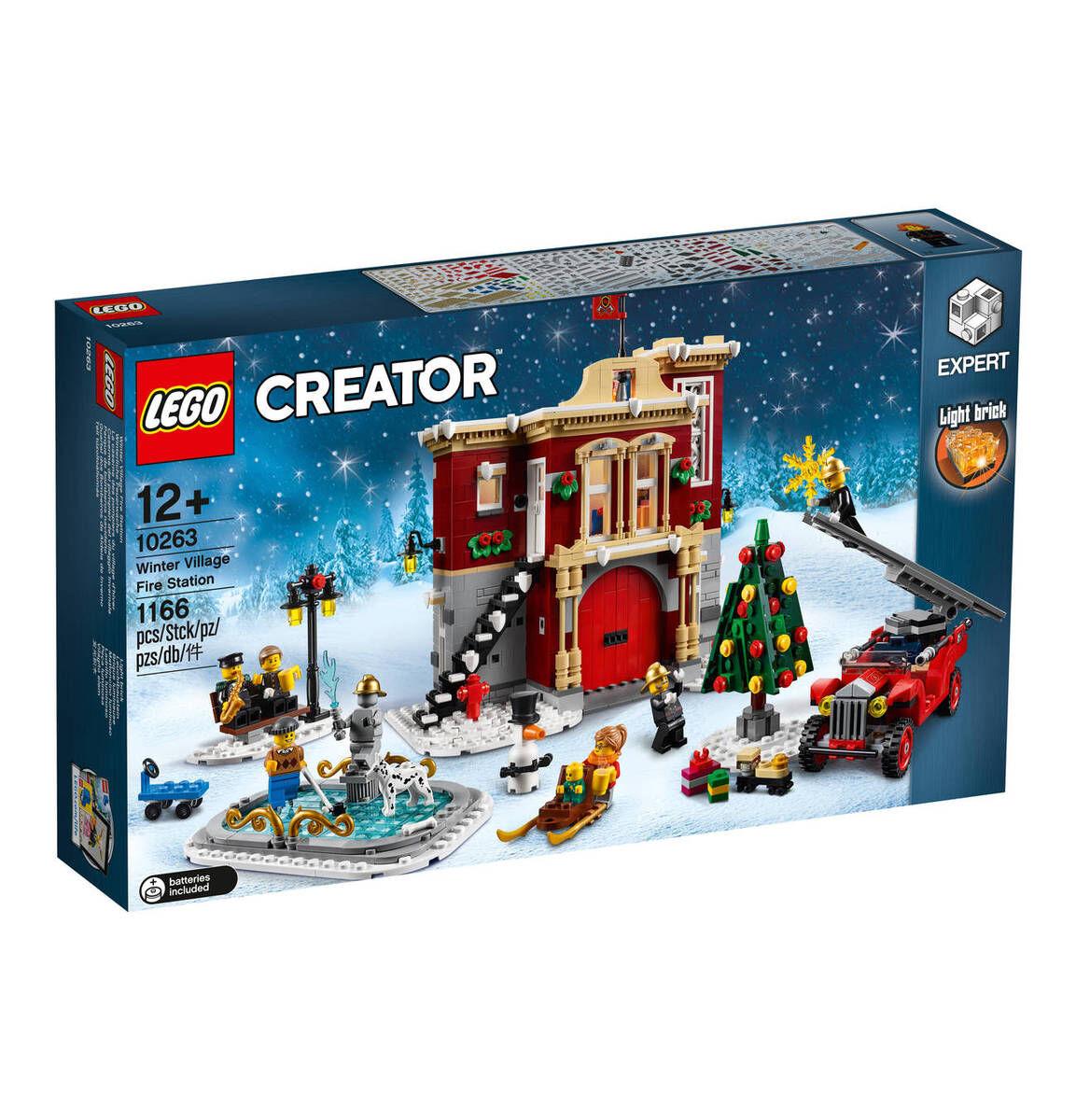 [Galeria] LEGO Creator 10263 : Winterliche Feuerwache (Newsletter)