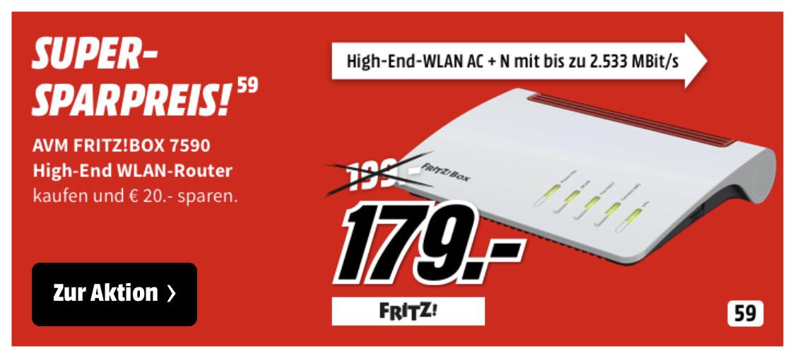 Media Markt AVM Fritz!Box 7590