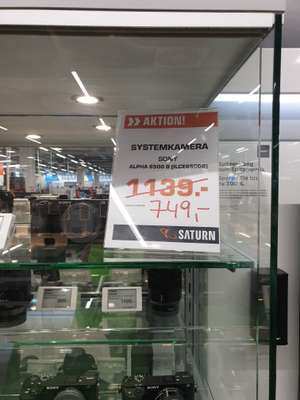 Sony Alpha 6500 Body (Lokal Berlin Saturn Eastside Mall)