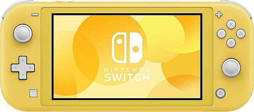 Nintendo Switch Lite gelb mit Otto NK+NL