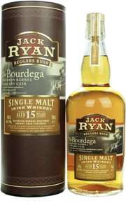 Jack Ryan Beggars Bush 15 Jahre Sherry Cask Finish. Single Malt Irish Whiskey