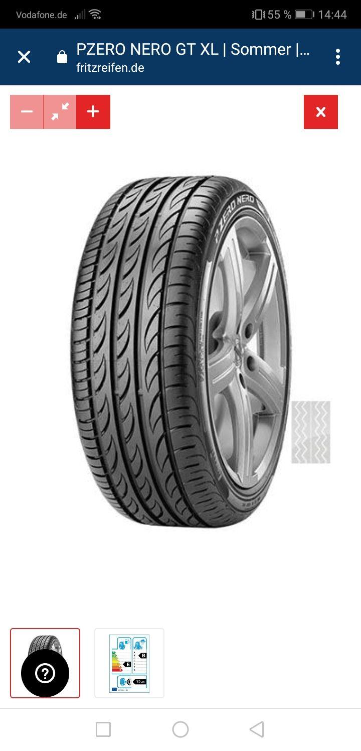 Pirelli PZero Nero GT Sommerreifen 225/40R18